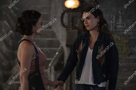 Stock Picture of Michelle Rodriguez, Jordana Brewster
