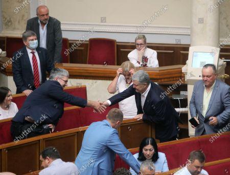 Editorial picture of Verkhovna Rada sitting on July 1, 2021, Kyiv, Ukraine - 01 Jul 2021