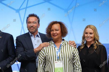 Arnold Schwarzenegger, Lisa Jackson, Heather Milligan