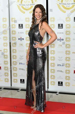 Editorial image of National Film Awards, Arrivals, London, UK - 01 Jul 2021