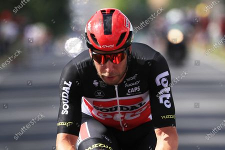 German rider Roger Kluge of the Lotto Soudal team in action during the 6th stage of the Tour de France 2021 over 160.6 km from Tours to Chateauroux, France, 01 July 2021.