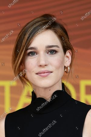 Stock Image of Matilda Lutz during the photocall of film ' A Classic Horror Story ' presented by Netflix