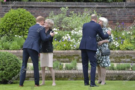 Editorial image of Princess Diana, London, United Kingdom - 01 Jul 2021