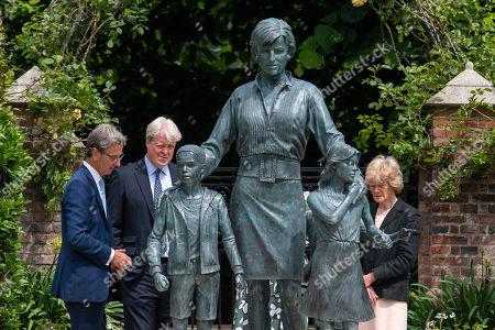 Editorial picture of Unveiling of Princess Diana statue, Kensington Palace, London, UK - 01 Jul 2021