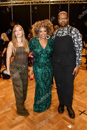 Stock Picture of MNEK, Marissa Wallace, Becky Hill