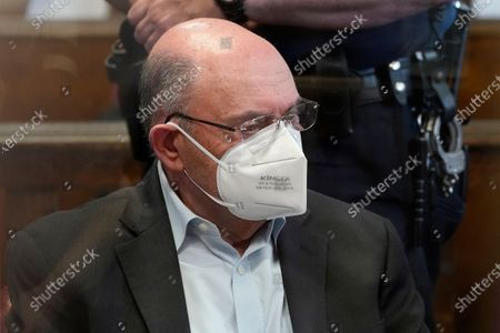 Allen Weisselberg, the chief financial officer for the Trump Organization, sits in a court room during a hearing after he turned himself in this morning to face an indictment brought by the Manhattan district attorney's office at Manhattan Criminal Court in New York, New York, USA, 01 July 2021. The Trump Organization, the family business of former US President Donald J. Trump, and Weisselberg have been indicted for alleged tax crimes related to unreported fringe benefits given to employees of company, charges that are result of a years long investigation by Manhattan District Attorney Cy Vance and New York State Attorney General Letitia James.