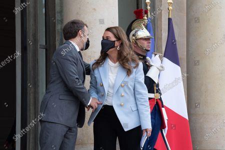 Editorial picture of Melinda Gates visit to Elysee Palace, Paris, France - 01 Jul 2021