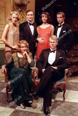 L-R Adele Bannerman (Camilla Power), Marcus Bannerman (Mark Mcgann), Ruth Bannerman (Victoria Scarborough) and Stephen Bannerman (Ifan Meredith) (Top Row) Sarah Bannerman (Julia St John) and John Bannerman (Michael Siberry)(Bottom Row).