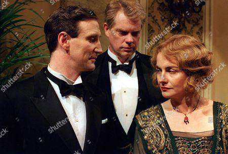 Marcus Bannerman [Mark McGann], John Bannerman  [Michael Siberry] and Sarah Bannerman [Julia St John]  Marcus has unpleasant news for John and Sarah.