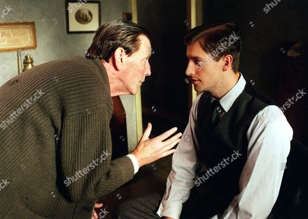 Episode 6  March 6th 1998 Clive Evans (Paul Warriner)[right] has something from his past that he feels compelled to tell his father (Tom Bell).