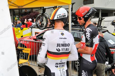 Editorial image of Tour de France, Stage 5, Change to Laval, France - 30 Jun 2021