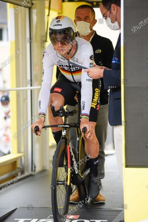 Editorial photo of Tour de France, Stage 5, Change to Laval, France - 30 Jun 2021
