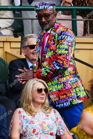 Stock Picture of Derrick Evans, otherwise known as Mr Motivator, in the Royal Box