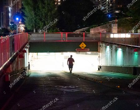 Stock Image of A Toronto police officer is in critical condition after being hit by a car in the underground parking lot for City Hall on Queen St West.