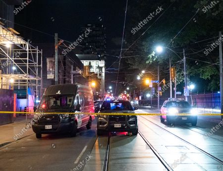 A Toronto police officer is in critical condition after being hit by a car in the underground parking lot for City Hall on Queen St West.
