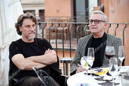 Giorgio Tirabassi and Massimo Ghini