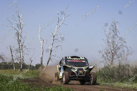 Editorial photo of Rally Silk Way Rally 2021's 1st stage between Omsk and Novosibirsk, Omsk, Russia - 02 Jul 2021