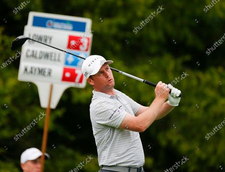 Stock Image of Martin Kaymer tees off on the 16th hole