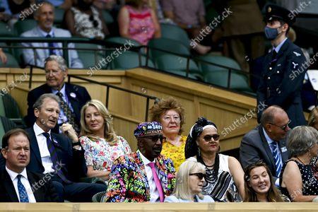 Editorial image of Wimbledon Championships 2021, United Kingdom - 02 Jul 2021