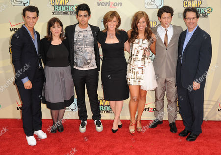 Editorial picture of 'Camp Rock 2 - The Final Jam' Film Premiere, New York, America - 18 Aug 2010