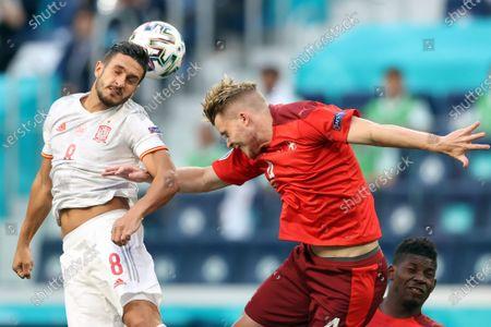 Editorial image of Quarter Final Switzerland vs Spain, St Petersburg, Russian Federation - 02 Jul 2021