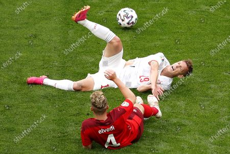 Editorial picture of Quarter Final Switzerland vs Spain, St Petersburg, Russian Federation - 02 Jul 2021