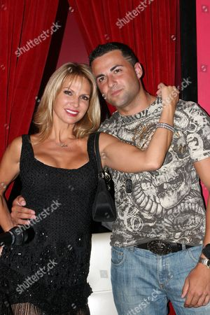 Stock Image of Savanna Samson and Jeff Miranda