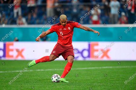 Editorial picture of Russia Switzerland Spain Euro 2020 Soccer, Saint Petersburg, Russian Federation - 02 Jul 2021