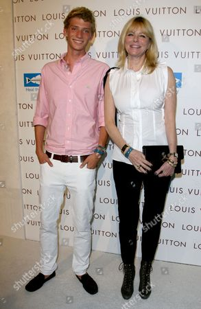 Editorial image of Louis Vuitton Santa Monica Store Opening Benefiting Heal the Bay, Santa Monica, Los Angeles, America - 19 Aug 2010