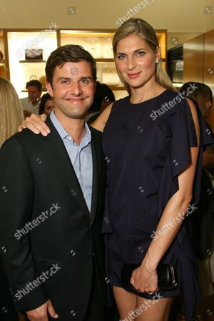 Stock Picture of Charles Delapalme and Gabrielle Reece