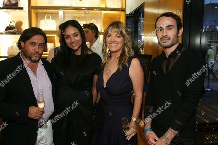 Adam Peck, Jennifer Arceneaux, Maria Arena Bell and Samuel Vasquez