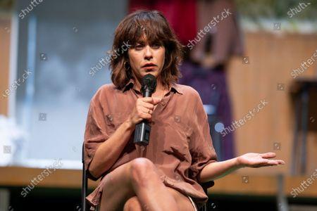 Editorial picture of Maria Leon press conference, Madrid, Spain - 02 Jul 2021