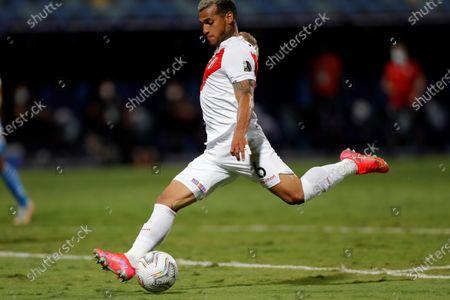 Editorial image of Peru vs Paraguay, Goiania, Brazil - 02 Jul 2021