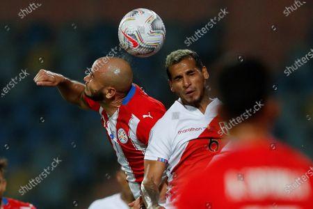 Editorial photo of Peru vs Paraguay, Goiania, Brazil - 02 Jul 2021