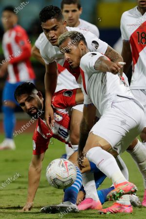 Editorial picture of Peru Paraguay Copa America Soccer, Goiania, Brazil - 02 Jul 2021