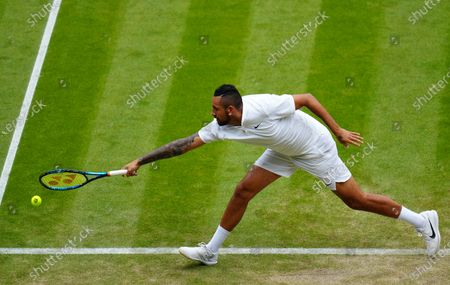 Editorial photo of Wimbledon Tennis Championships, Day 6, The All England Lawn Tennis and Croquet Club, London, UK - 03 Jul 2021