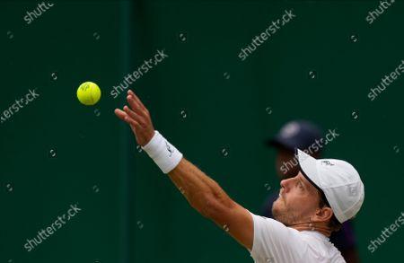 Editorial image of Wimbledon Tennis, London, United Kingdom - 03 Jul 2021