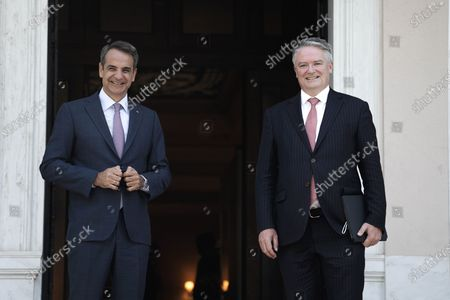 Editorial picture of Greece Athens Pm Oecd Meeting - 02 Jul 2021