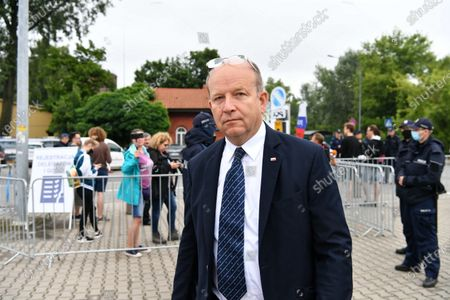 Member of the Law and Justice party (PiS) Konstanty Radziwill arrives for the Law and Justice party's congress at the EXPO XXI Center in Warsaw, Poland, 03 July 2021. The ruling conservative party's members convene to elect its party leader. It is widely expected Jaroslaw Kaczynski will continue in this role.