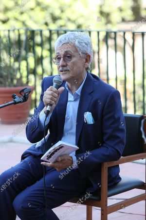 Massimo D'Alema, Italian politician and journalist guest in Naples at the NapoliCittàLibro.