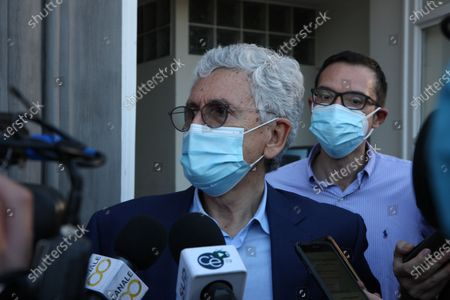 Editorial photo of Massimo D'Alema guest  at the NapoliCittàLibro, Naples, Italy - 02 Jul 2021