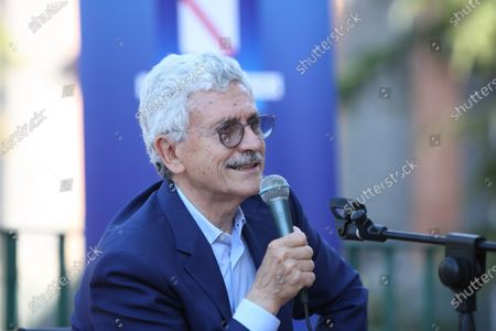 Editorial image of Massimo D'Alema guest  at the NapoliCittàLibro, Naples, Italy - 02 Jul 2021