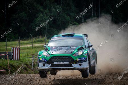 Stock Image of 27 MITCHELL Jason (IRL), WARD Peter (GBR), Jason MITCHELL, Ford Fiesta, action