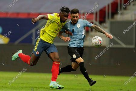 Editorial picture of Uruguay Colombia Copa America Soccer, Brasilia, Brazil - 03 Jul 2021