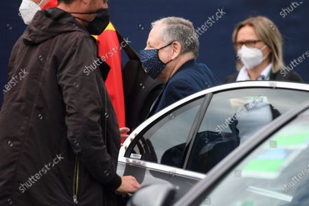 FIA President Jean Todt arrives for the Formula One Grand Prix of Austria at the Red Bull Ring in Spielberg, Austria, 04 July 2021.