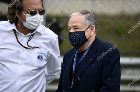 Jean Todt, president of the Federation Internationale de l'Automobile (FIA), before the start of the Formula One Grand Prix of Austria at the Red Bull Ring in Spielberg, Austria, 04 July 2021.