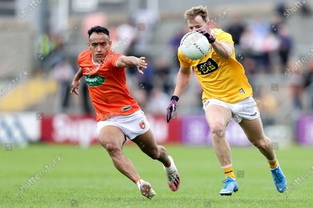 Editorial photo of Ulster GAA Football Senior Championship Quarter-Final, Athletic Grounds, Co. Armagh - 04 Jul 2021
