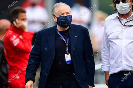 FIA President Jean Todt arrive before race of Austrian Grand Prix, 9th round of Formula One World Championship in Red Bull Ring in Spielberg, Styria, Austria, 4 July 2021