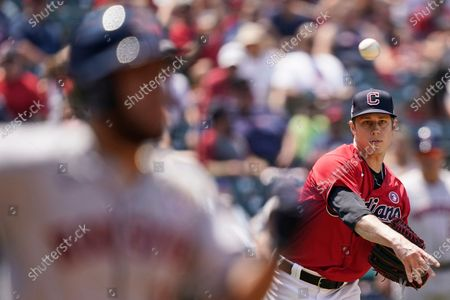 Editorial photo of Astros Indians Baseball, Cleveland, United States - 04 Jul 2021