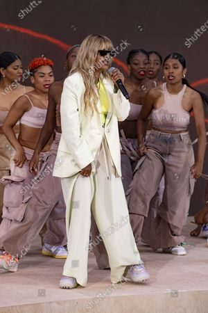 Stock Photo of M.I.A. performing at Off-White for Virgil AbloH